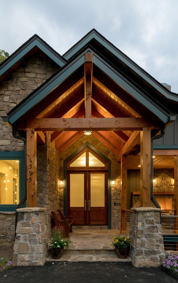Waynesville Mountain Modern Craftsman House Acm Design