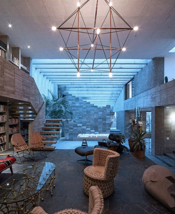 Mexico City Concrete Home Pedro Reyes And Carla Fernandez