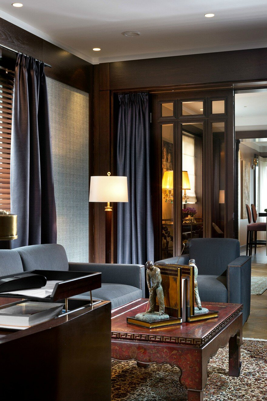 American Style Luxury Apartment Inspired By 30s Alexandr