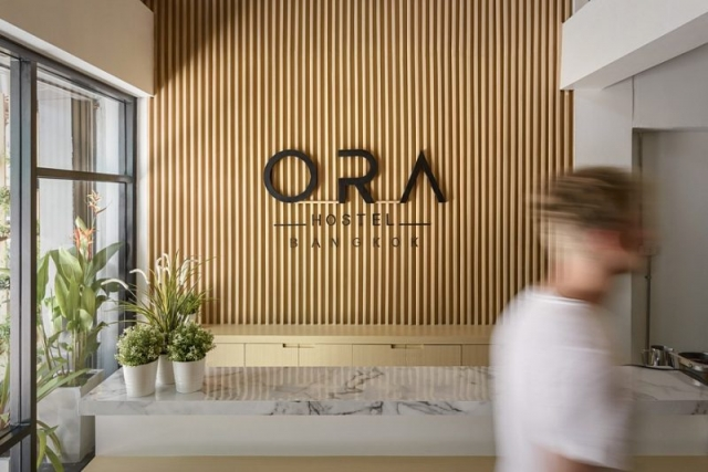 Ora Hostel In Bangkok Sea Architecture