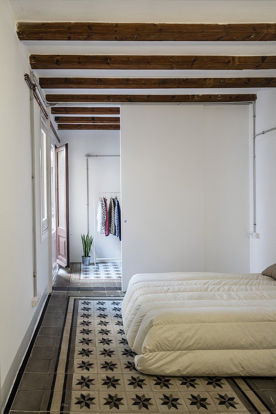Beautiful Floor Tiles In This Old Barcelona Apartment