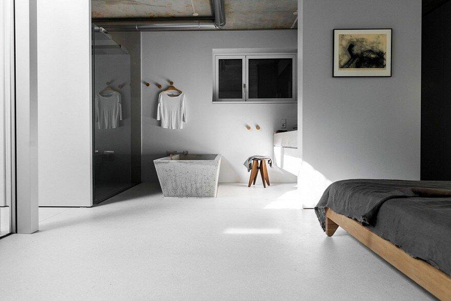 Minimalist Home with a Sleek and Clean Interiors by Studio Loft Kolasiski