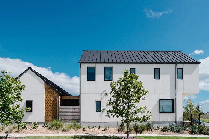 Contemporary Farmhouse Featuring Scandinavian Design and