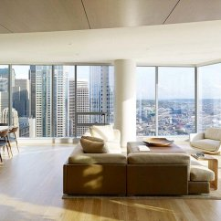 Wood Hand Chair Used Portable Massage Chairs For Sale High-rise Apartment With Floor-to-ceiling Windows Overlooking Downtown Seattle