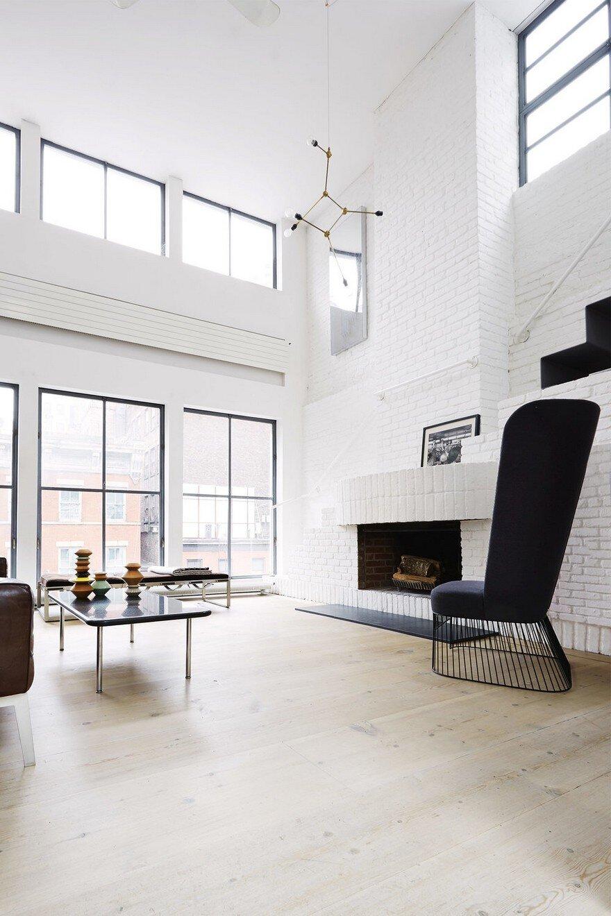 Scandinavian And Minimal New York City Loft
