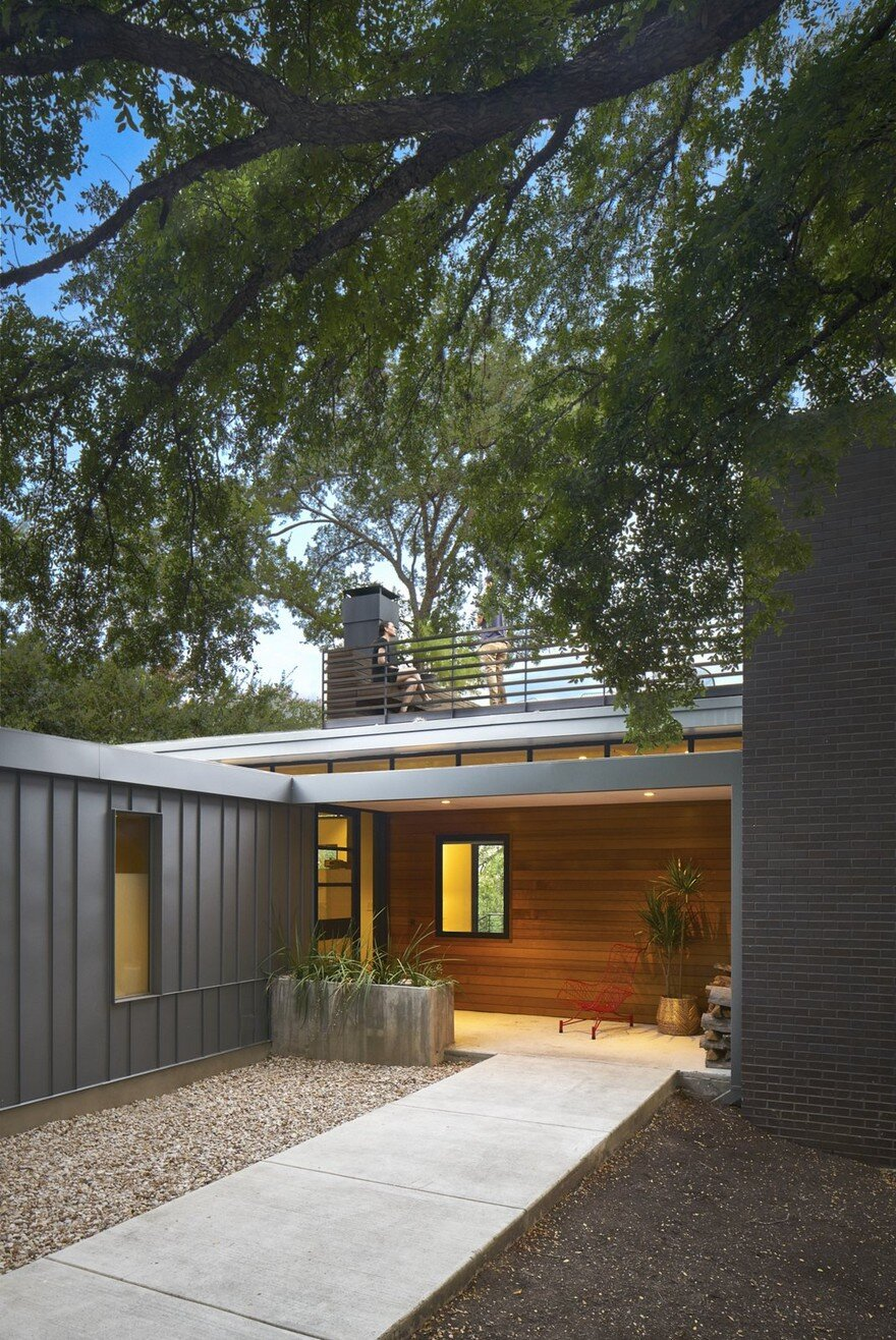 RemodelAddition of a MidCentury Home in Austins Barton Hills Neighborhood