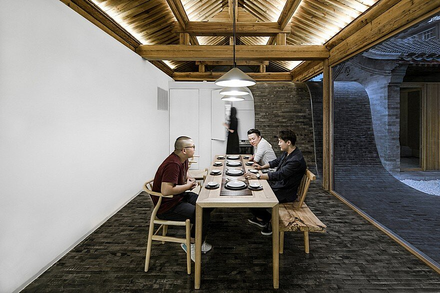 Traditional Siheyuan House Transformed into an Attractive Public Space of Beijing Inner City