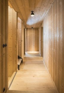 Wooden Mountain House Features Delightful Mix Of