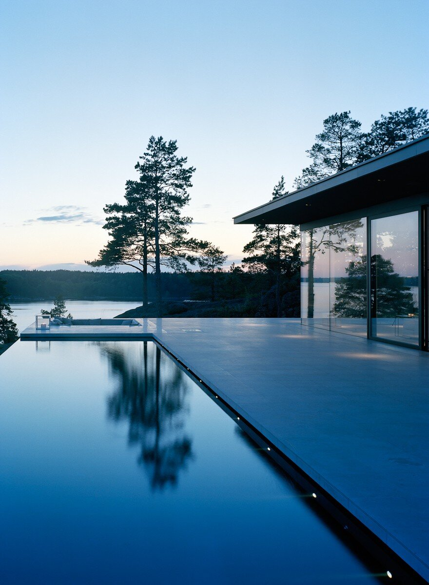 The Glass House in Stockholm Archipelago  John Robert