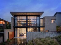 Contemporary Industrial House Features an Expressive ...