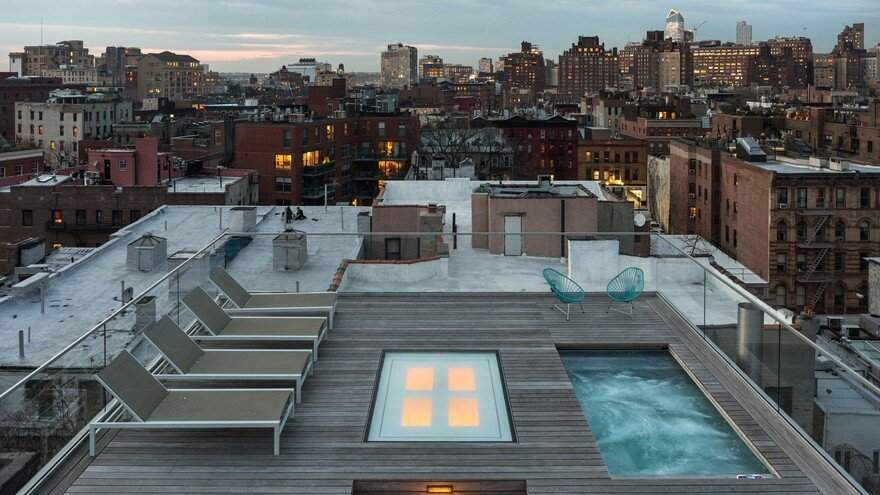 West Village Penthouse Renovated and Reconfigured as an