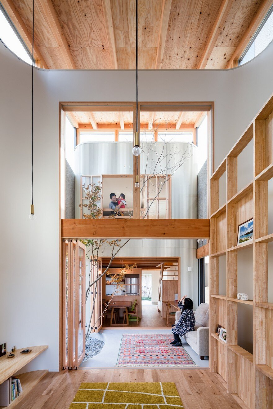 Minimalist Family Home In Osaka Defined By A Perfect Indoor Outdoor Experience