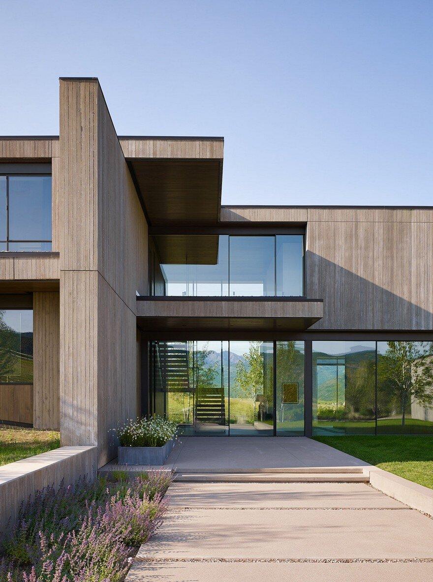 Mountain Modern House in Colorado  Robbins Architecture