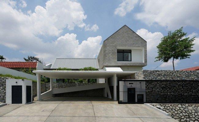Semi Detached Modern House In Malaysia Fabian Tan Architect