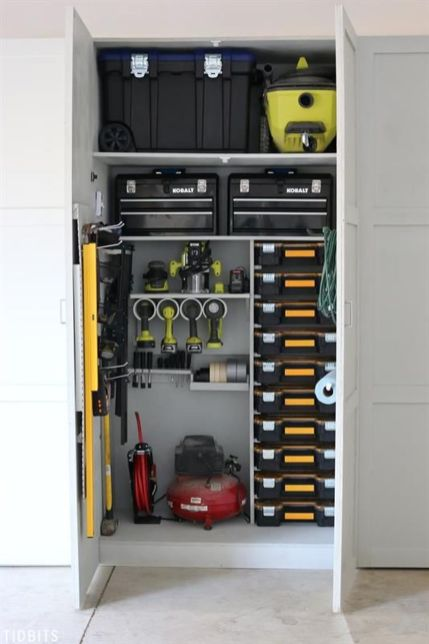 Awesome garage storage and organizations ideas 16 (source pinterest.com)