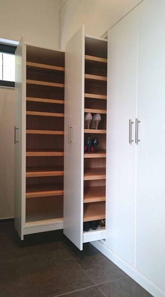 Cool hidden and pull out shelf storage ideas 1 (source pinterest.com)