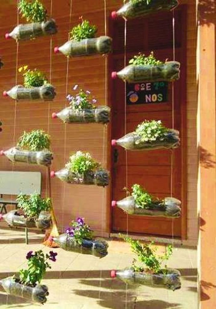 Diy recycle and upcycle for garden landscape 1 (source pinterest.com)