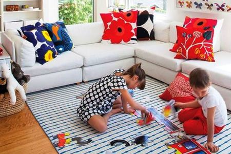 That's How to Make Kids-Friendly Living Room