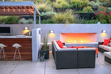 This is The Best Attractive Design Outdoor Fireplaces