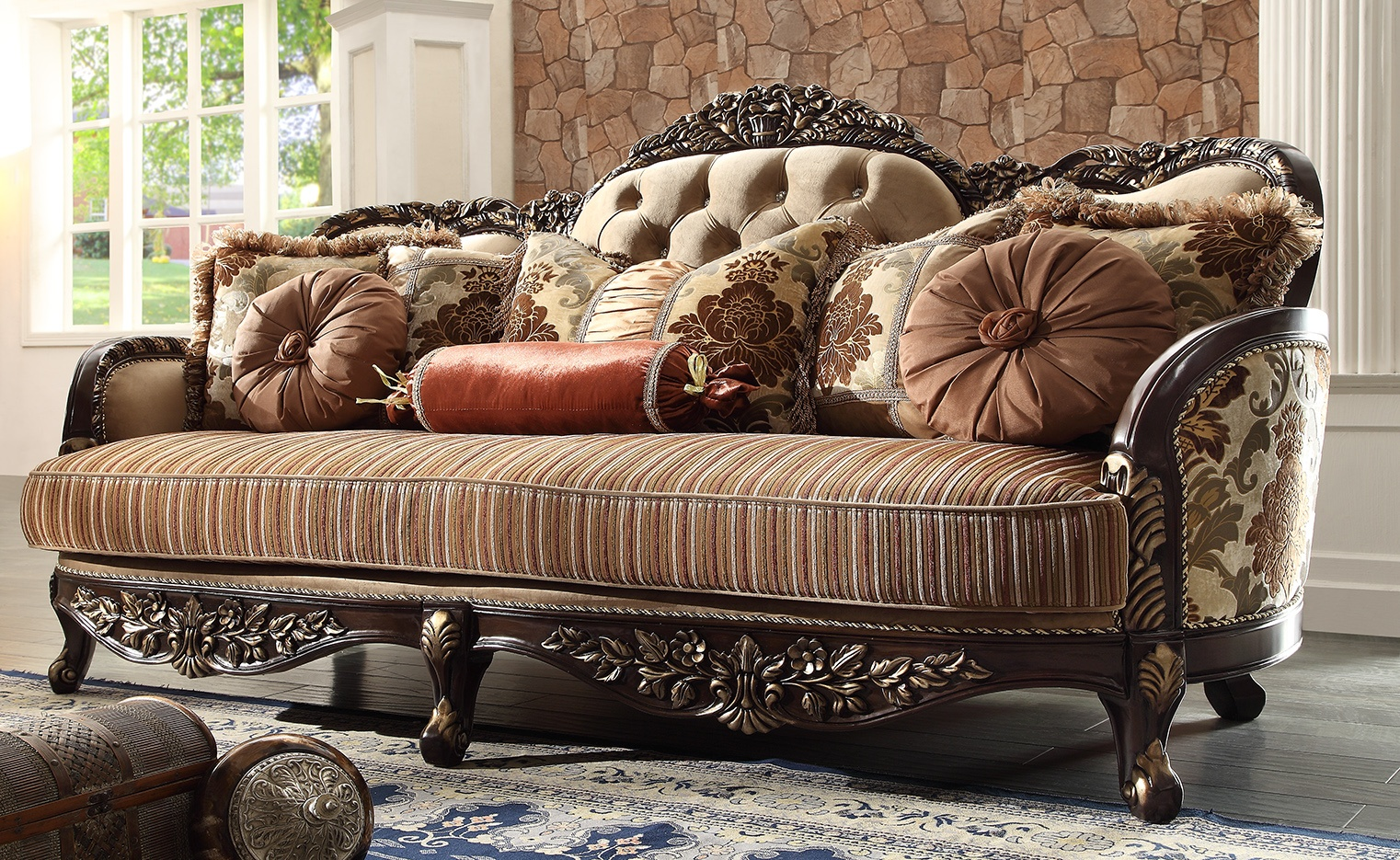Lounge Couch Hd-1976 – Sofa – Homey Design Inc.