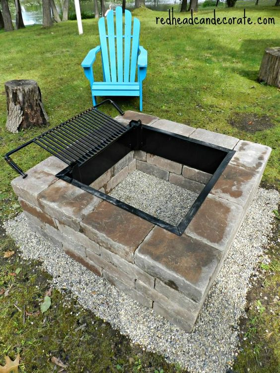 Outdoor Gas Fireplace Table 25 Creative Fire Pit Designs And Diy Ideas 2018