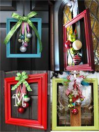 25 Amazing Christmas Door Decorations 2018