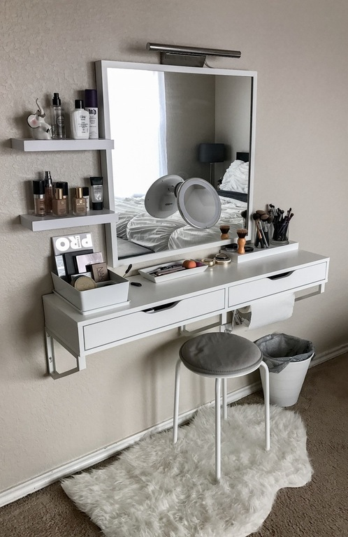 40 Awesome Makeup Storage Designs And Diy Ideas For Girls 2018