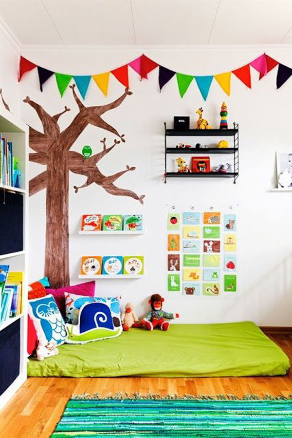 30 Creative  Cozy Reading Nooks for Kids 2017