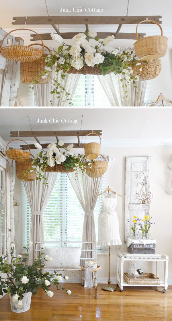 55 Awesome Shabby Chic Decor DIY Ideas Amp Projects 2017