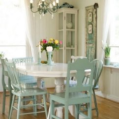 Shabby Chic Living Room Chairs Wedding Chair Cover Hire Telford 50 Dining Ideas That Every Girl Will Love 2018 Inviting In White And Green