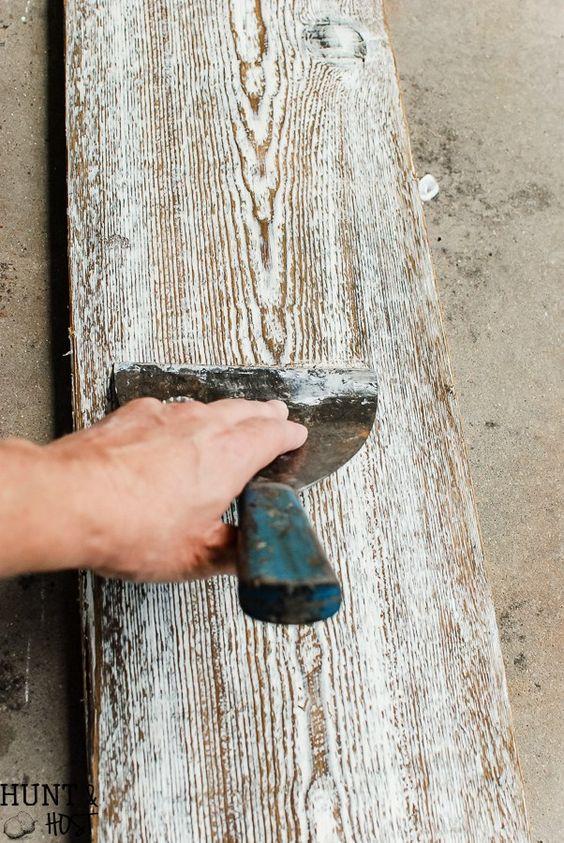 Bleach On Wood Floor
