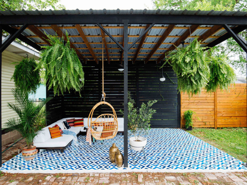 these 5 diy patio ideas will enhance