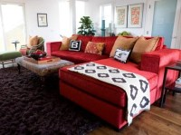 red-leather-sofa-decorating-ideas | The Zen of Zada