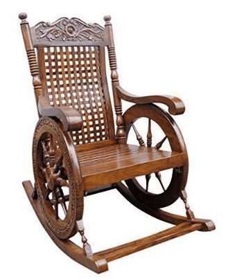rocking chair with footrest india office chairs bali top 7 best in to buy online tayyaba enterprises pure sheesham wooden
