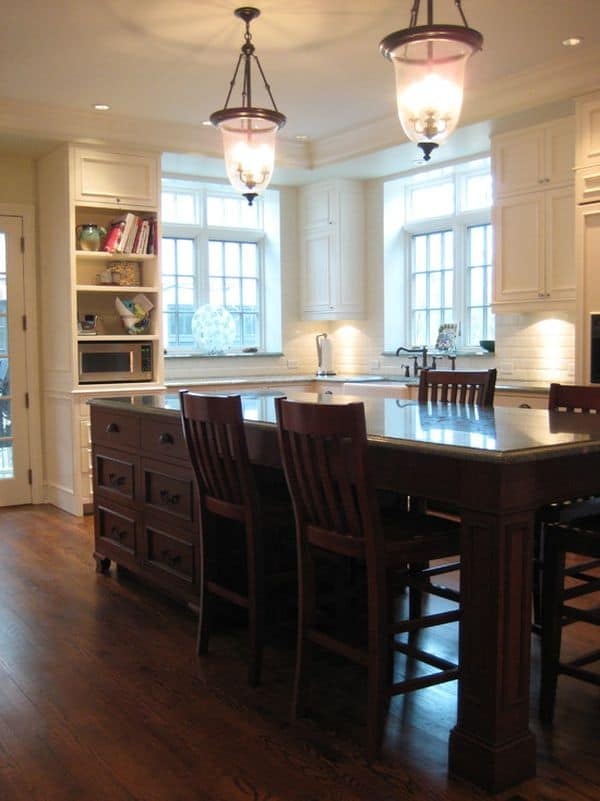Kitchen Island Design Ideas With Seating (smart Tables