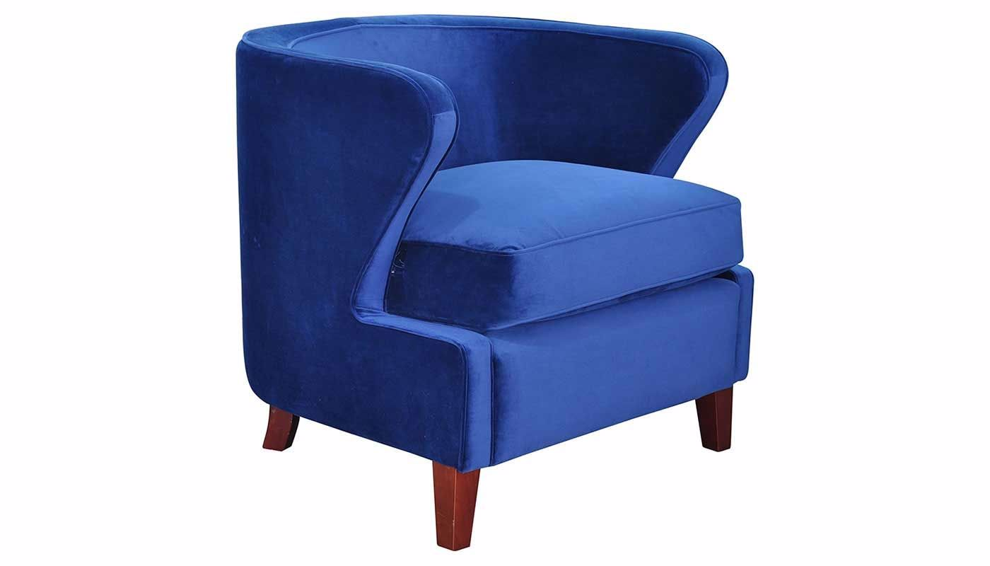 Royal Blue Chair Babylon Royal Blue Accent Chair