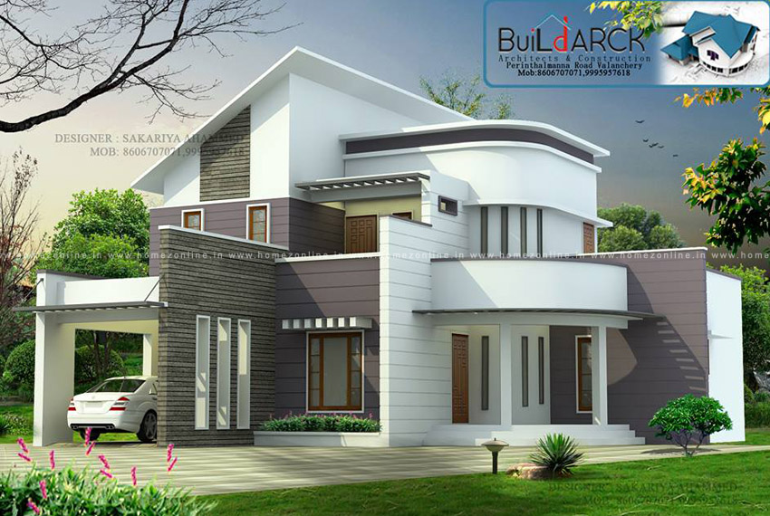 3 Bedroom House With A Beautiful House Roof Design