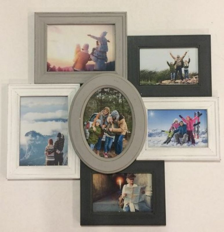 Alcott Hill® Hensley 6-Opening Collage Picture Frame & Reviews | Wayfair
