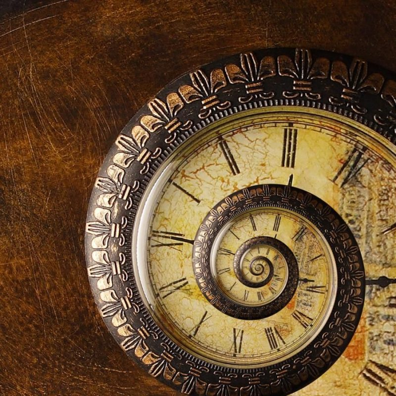 Antique Time Spiral _by fpsurgeon | Antique clock, Clock, Old clocks