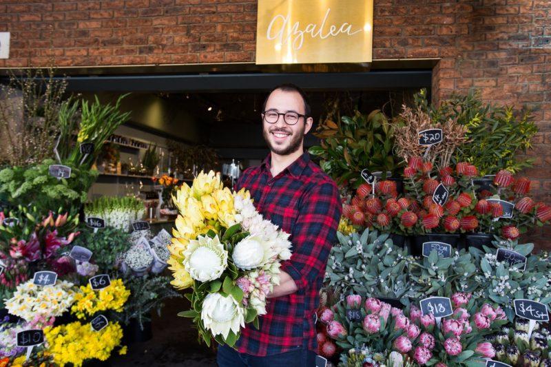 Azalea Flower Shop - Coventry Street Flowers - South Melbourne Market