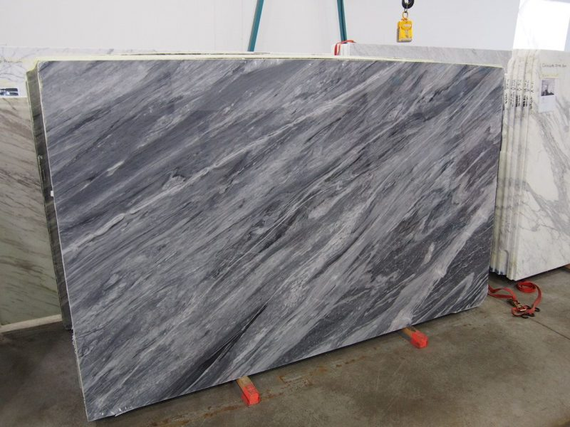 Bardiglio Nuvolato Marble slab sold by Milestone Marble | Size: 117 x 70 x  3/4 inches | Marble slab, Stone slab, Stone tiles