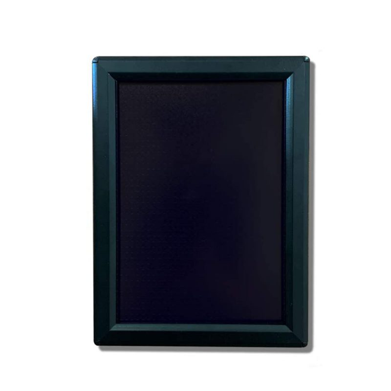Black 5x7 Snap Frames for Office Signs and More - NapNameplates