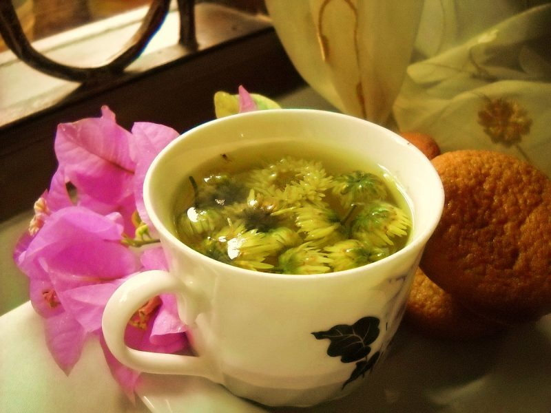 Chrysanthemum tea - Wikipedia