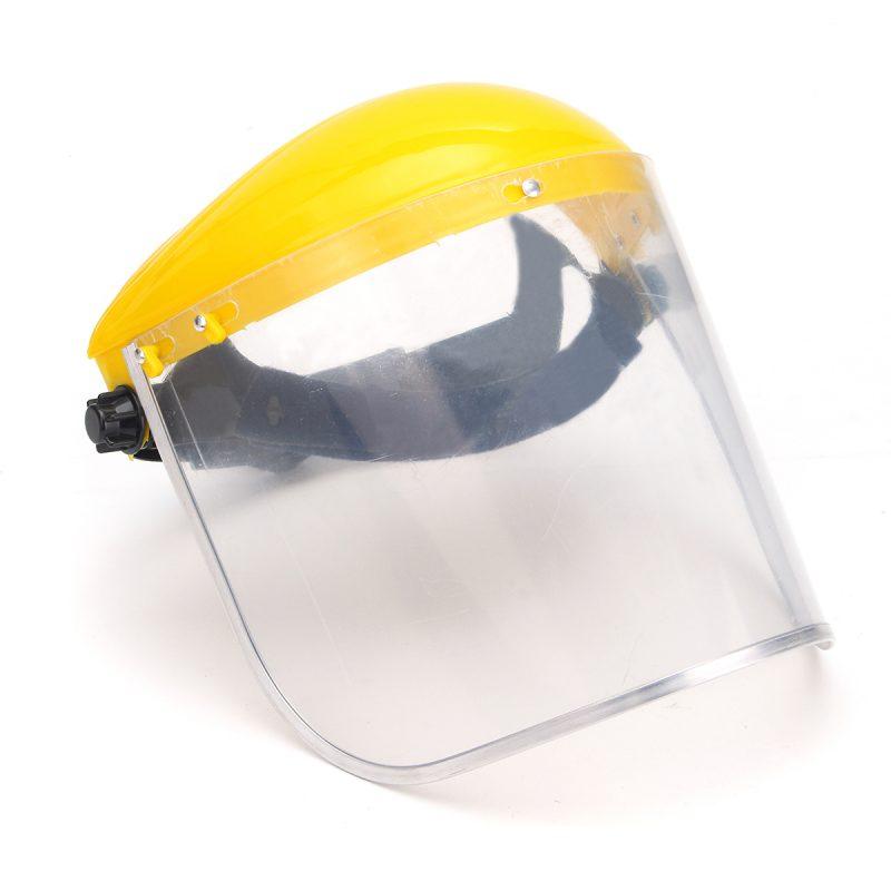 Clear Mesh Full Visor Flip Up Face Shield Screen Safety Mask Eye Protector    eBay
