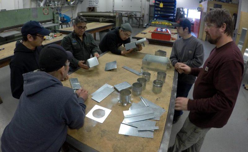 CVRF And Sheet Metal Workers Union Team Up To Create Rural Apprenticeship Program | KYUK