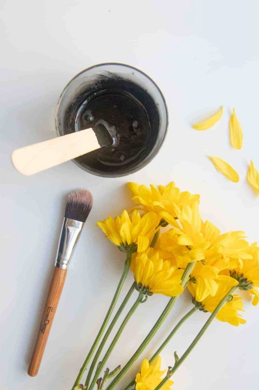 DIY Peel-Off Face Mask with Activated Charcoal | Wholefully