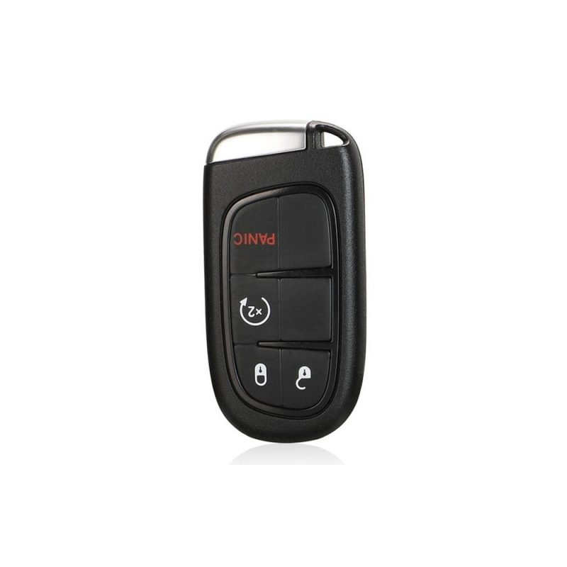 jingyuqin 4/5 Buttons 433MHz ID46 pcf7953 Remote Smart Car Key Fob for  Dodge Ram 2500 Journey 2013 2019 Original Keys|Car Key| Number of Buttons 4  Buttons Color for DODGE Journey