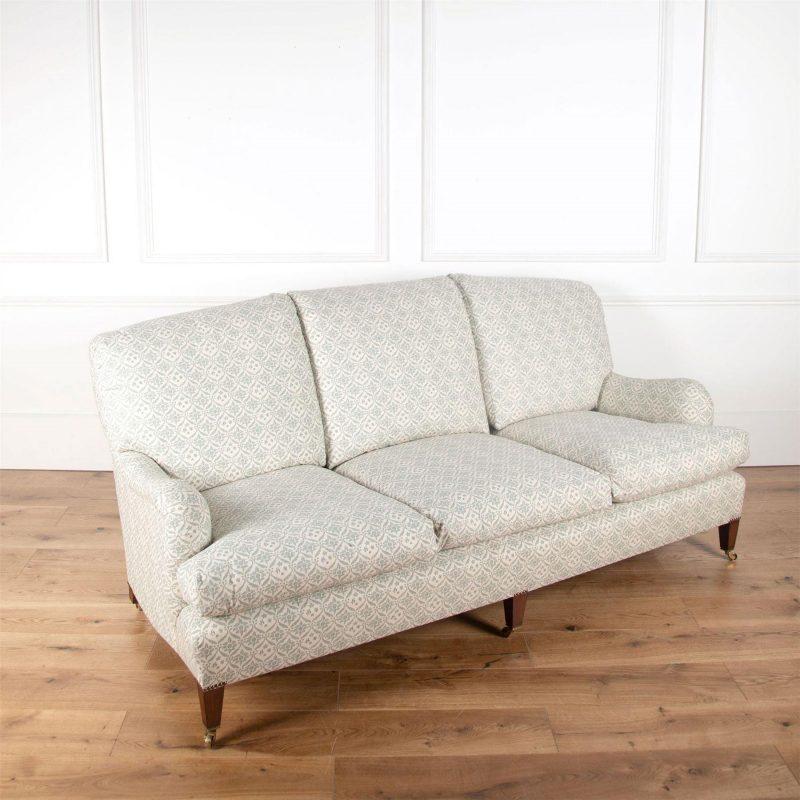 Mid 20th Century Howard and Sons Bridgewater Sofa