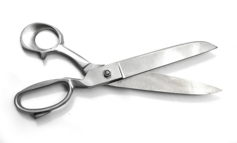 """RI 538-AS8'' 8"""" Heavy Duty Tailor Scissors Stainless Steel – Rex  Distributor, Inc. Wholesale Knives, Swords, Sporting Goods, Crossbows, Self  Defense"""