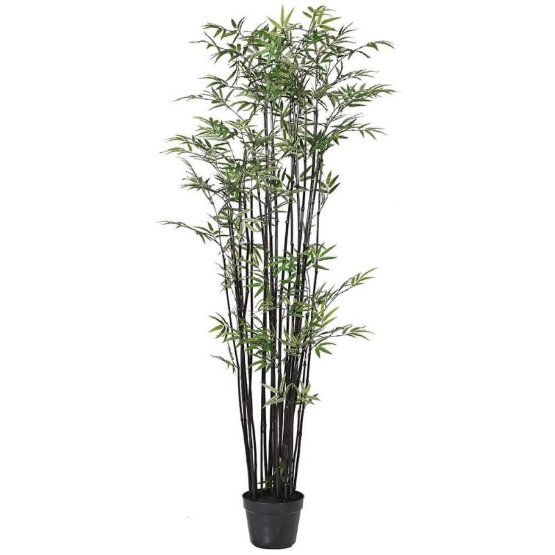 Tall Faux Black Bamboo Tree | The Farthing